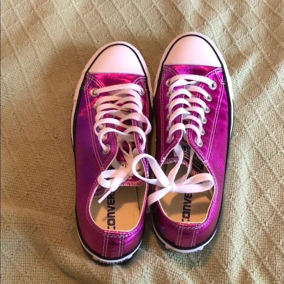 Converse Shoes | Metallic Purple